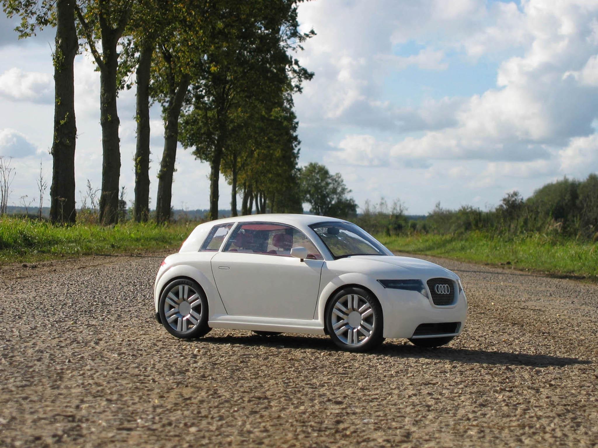 Audi A1 by Steven vander Veen, Netherlands | Michelin Challenge Design