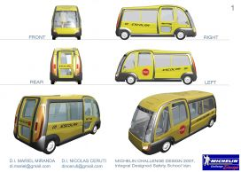 Integral Designed Safety School Van