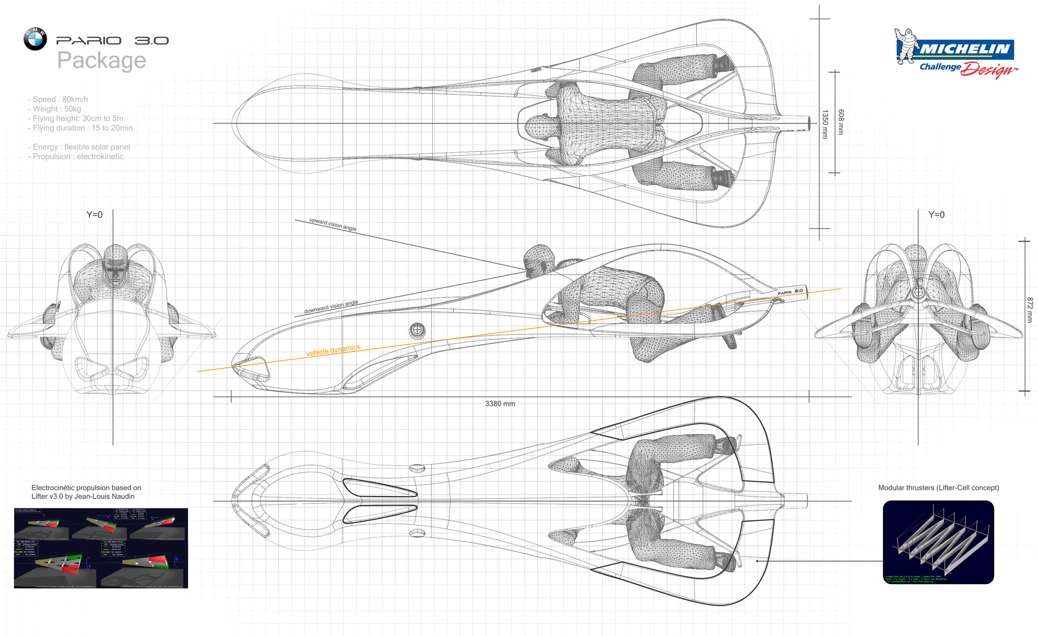 BMW Pario 30 by Harvey Rabenjamina, France | Michelin Challenge Design