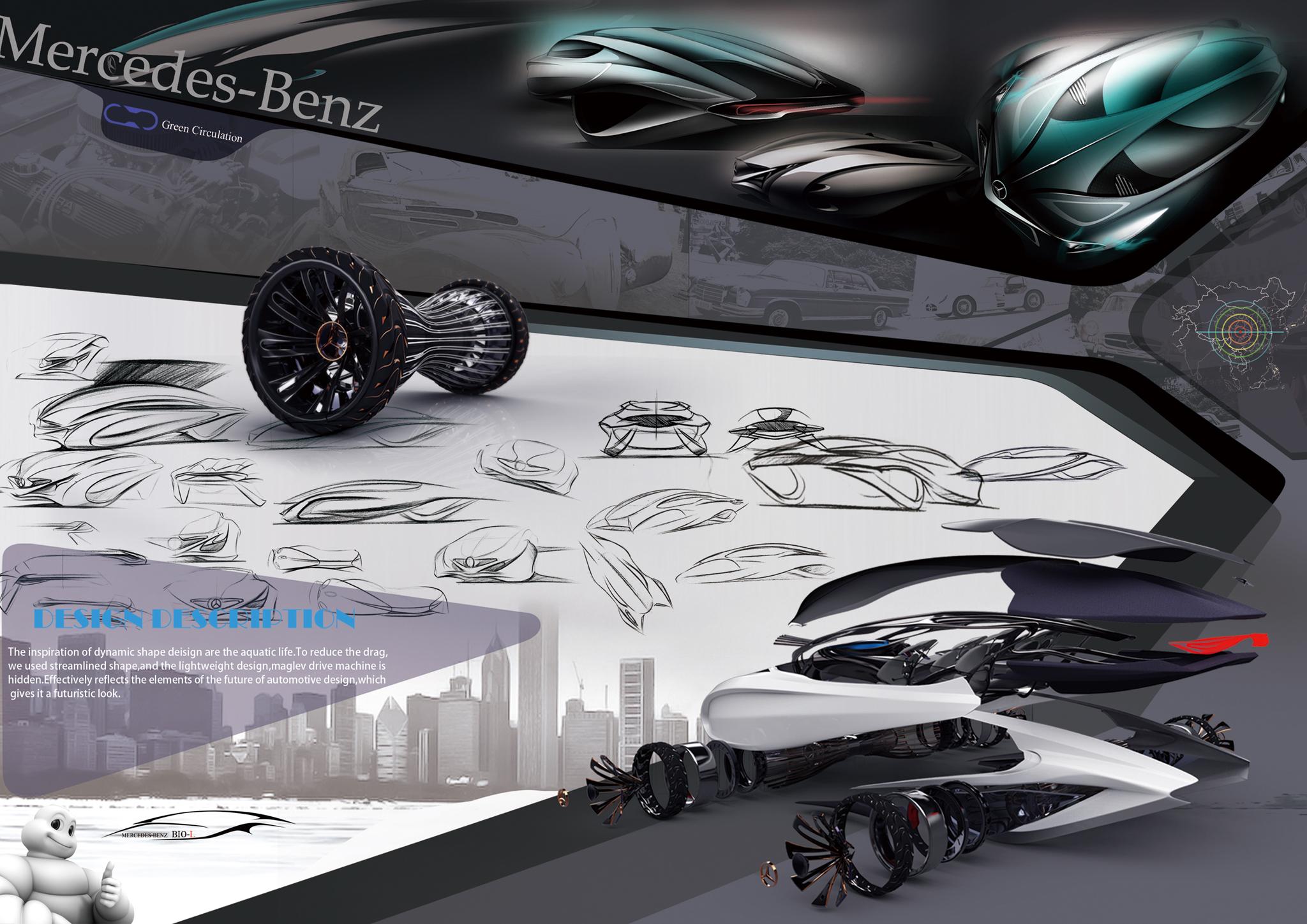 Dolphin by Liu Shun, Gao Zhiqiang & Chen Zhilei, China   Michelin Challenge Design
