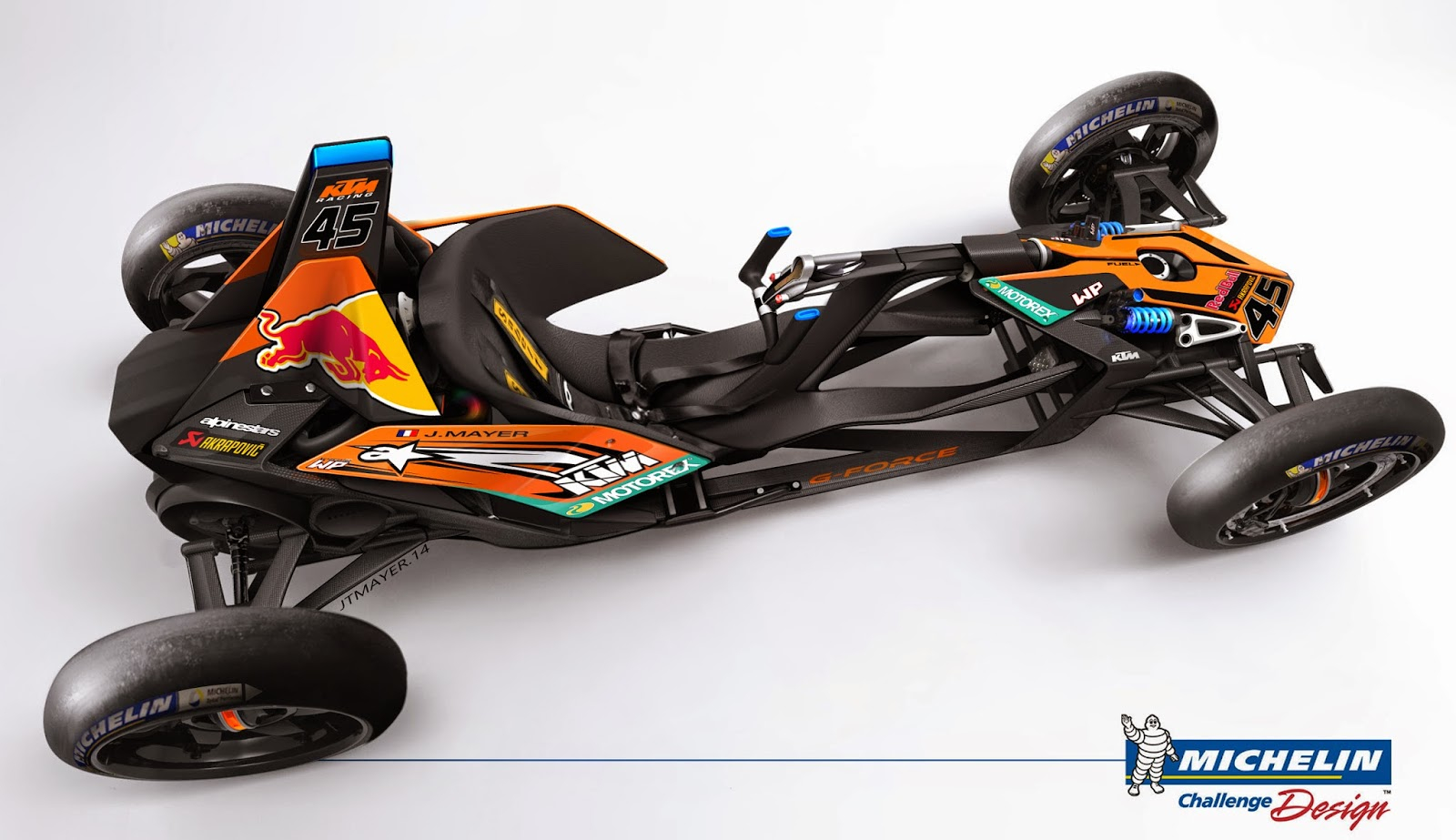 michelin kart GForce Concept by Jean Thomas Mayer, France | Michelin Challenge  michelin kart
