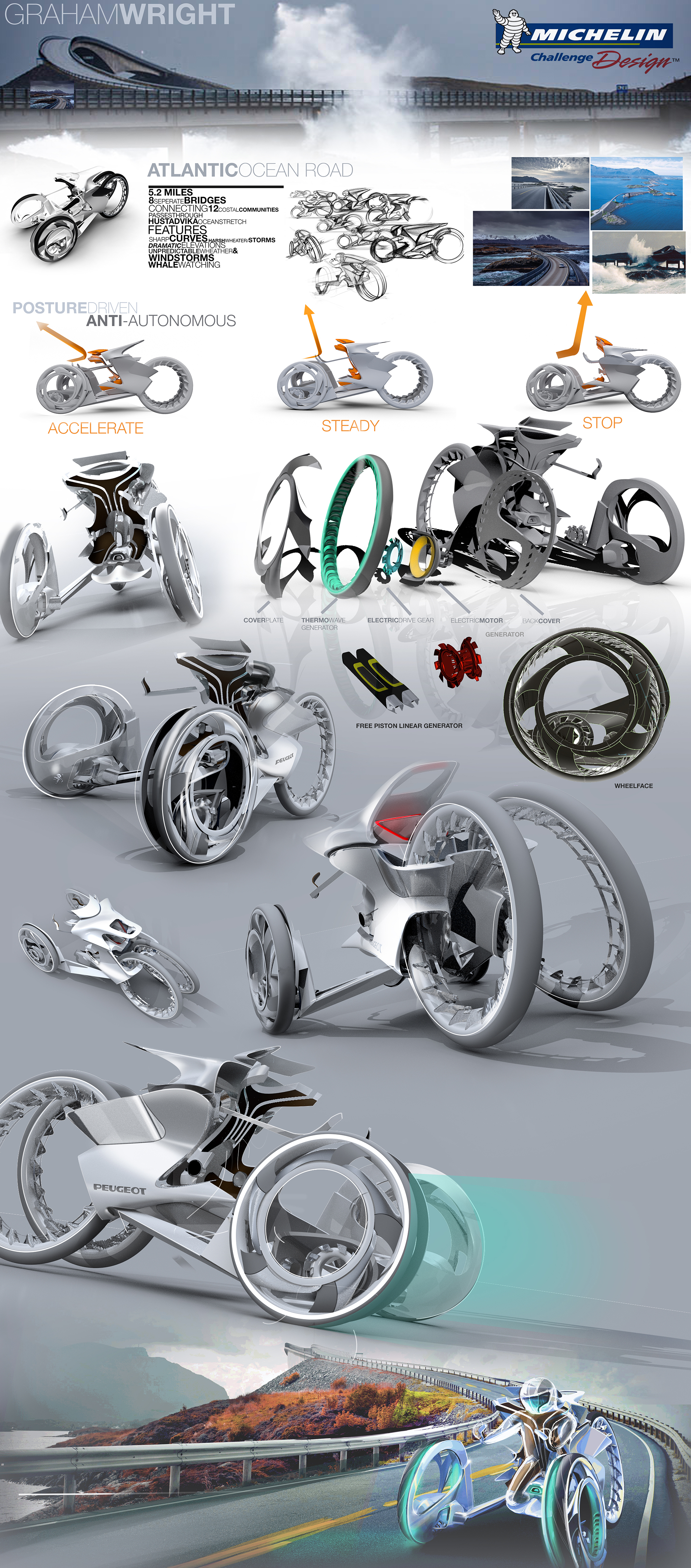 Michelin Announces Winners Of 26th Annual College For Creative Studies Design Competition Michelin Challenge Design