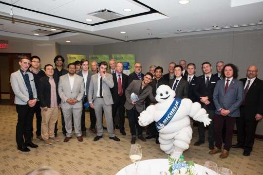Winners of Michelin Challenge Design & CCS Competition