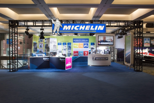 Michelin Challenge Design Display @ NAIAS 2016