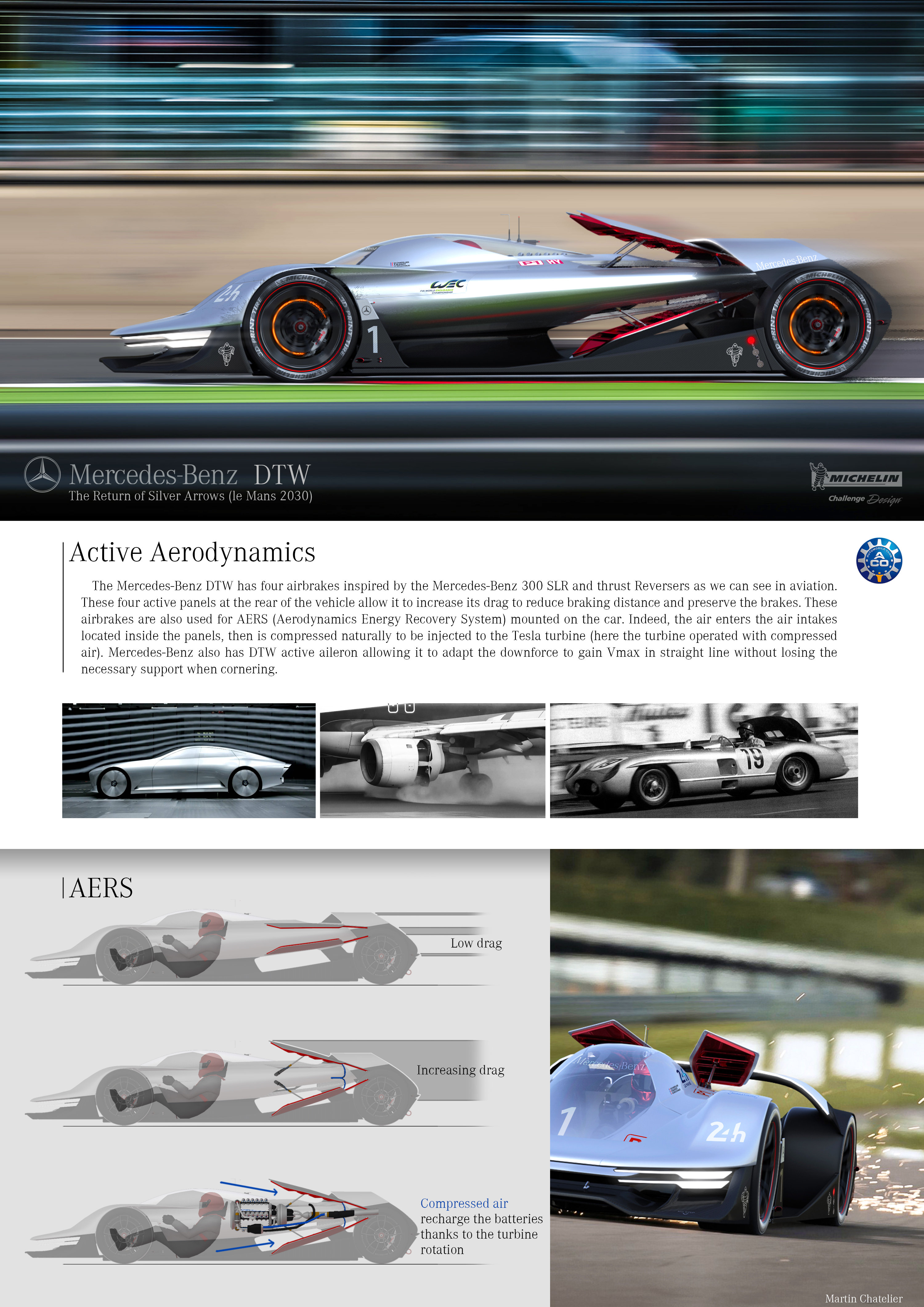Mercedesbenz dtw by martin chatelier france michelin for Mercedes benz germany internship
